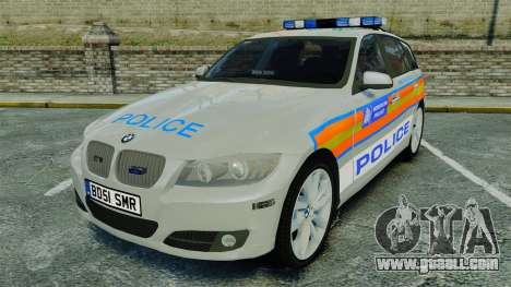 BMW 330i Touring Metropolitan Police [ELS] for GTA 4