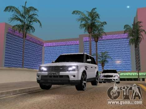 Range Rover Sport 2011 for GTA San Andreas right view