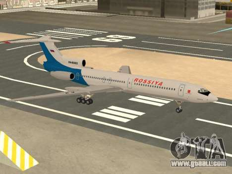 Tu-154 B-2 SCC of Russia for GTA San Andreas side view
