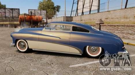 Mercury Lead Sled Custom 1949 for GTA 4 left view