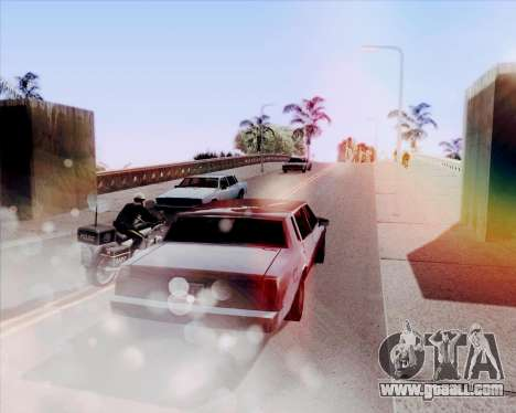 ENB HD CUDA 2014 v.3.5 Final for GTA San Andreas forth screenshot