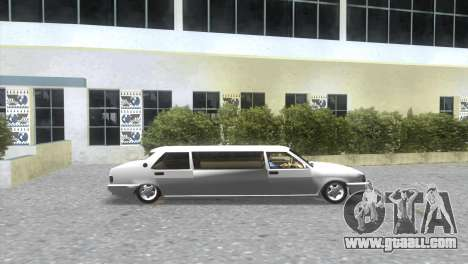 Tofaş Limousine-Service for GTA Vice City back left view