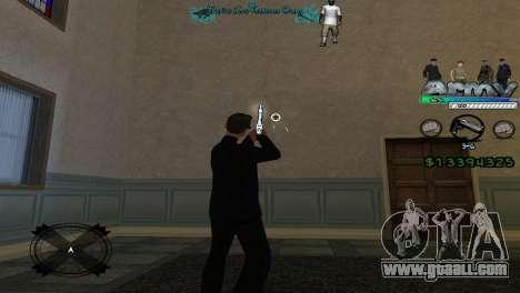 Hud By Tony for GTA San Andreas third screenshot