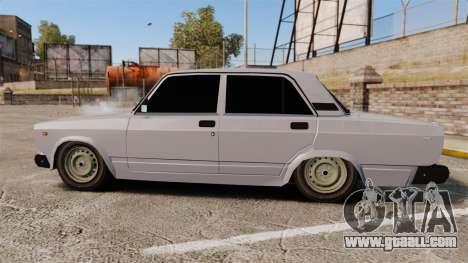 VAZ-2107 Lada for GTA 4 left view