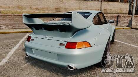 Porsche 993 GT2 1996 v1.3 for GTA 4 back left view