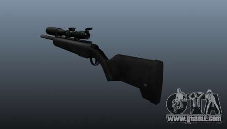 The Steyr Scout sniper rifle for GTA 4 second screenshot