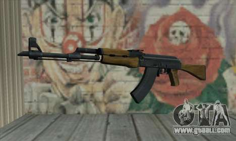 AK47 from L4D for GTA San Andreas