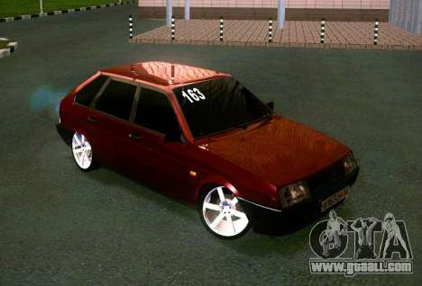 VAZ 21093i for GTA San Andreas back view