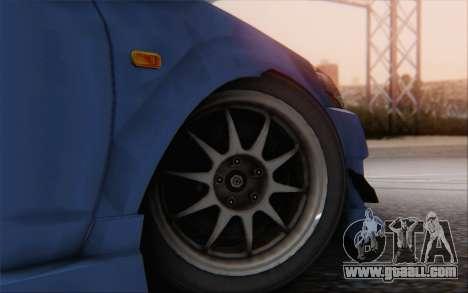 Honda Integra for GTA San Andreas back left view