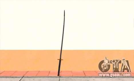Katana for GTA San Andreas second screenshot