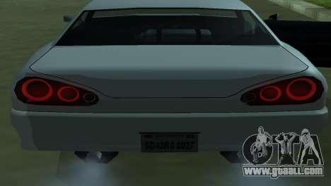 Elegy 280sx for GTA San Andreas upper view