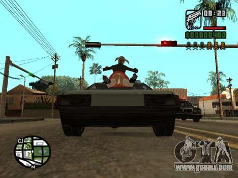 Ketchup on the hood for GTA San Andreas fifth screenshot