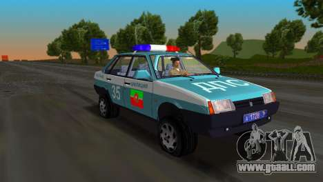VAZ 21099 Militia for GTA Vice City