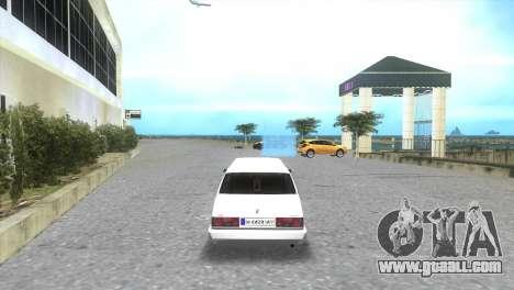 Tofaş Limousine-Service for GTA Vice City left view