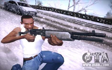Spas 12 for GTA San Andreas forth screenshot