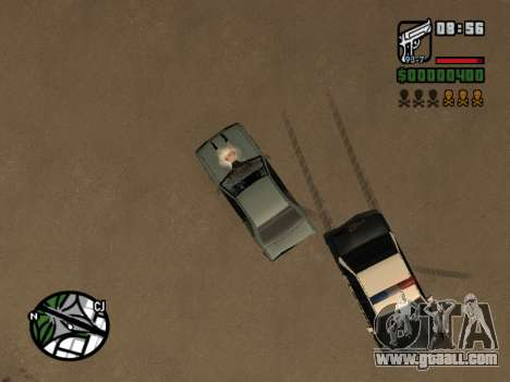 Ketchup on the hood for GTA San Andreas sixth screenshot