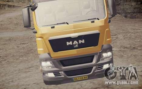 MAN TGS 18.320 Trash Truck for GTA San Andreas back view