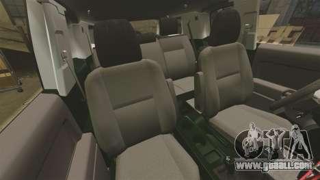 Toyota FJ Cruiser 2012 for GTA 4 inner view