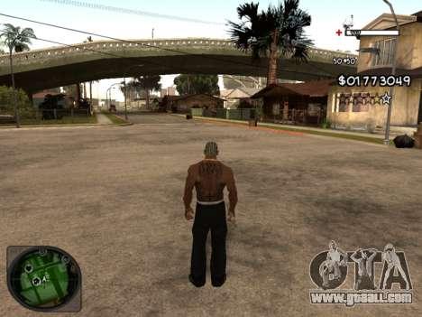 C-HUD by Azov for GTA San Andreas second screenshot