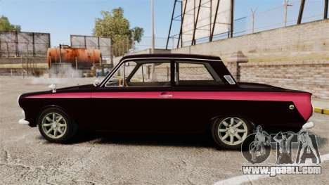 Lotus Cortina 1963 for GTA 4 left view