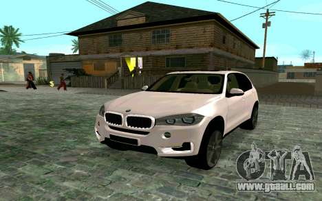 BMW X5 F15 for GTA San Andreas