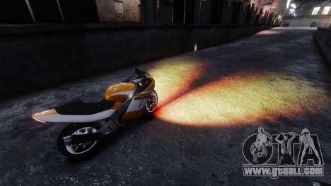 The fiery light of headlights for GTA 4 second screenshot