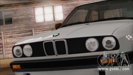 BMW M5 E30 for GTA San Andreas back view