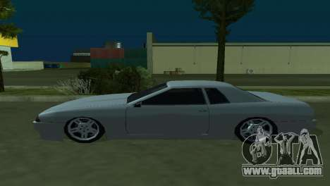 Elegy 280sx for GTA San Andreas inner view