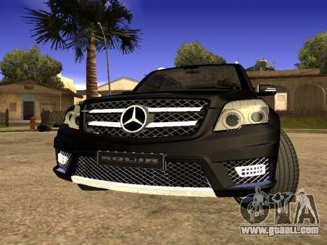 Mercedes-Benz GLK for GTA San Andreas
