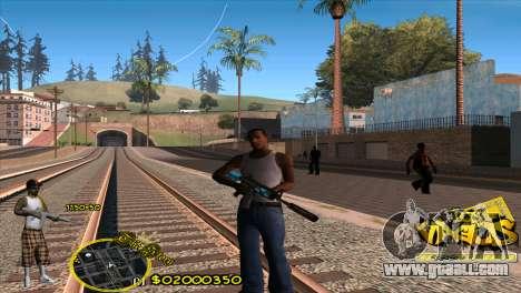 C-HUD Vagos by HARDy for GTA San Andreas
