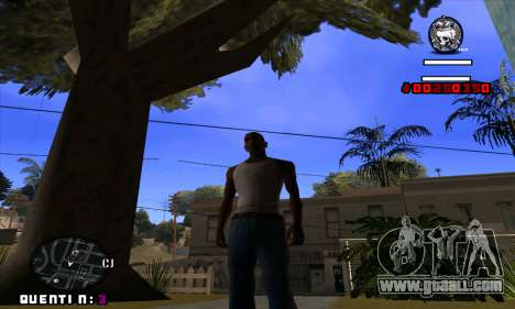 C-HUD Quentin for GTA San Andreas