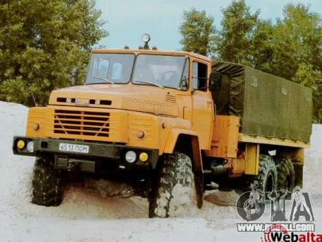 Boot screens Soviet Trucks for GTA San Andreas fifth screenshot