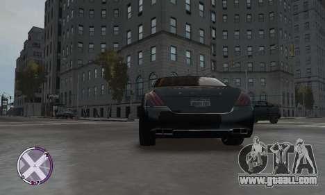 Enus Cognoscenti for GTA 4 back left view