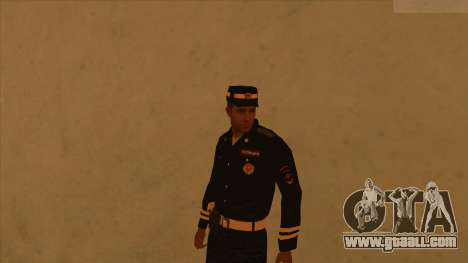 Skins police and army for GTA San Andreas seventh screenshot