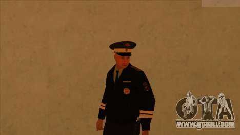 Skins police and army for GTA San Andreas forth screenshot