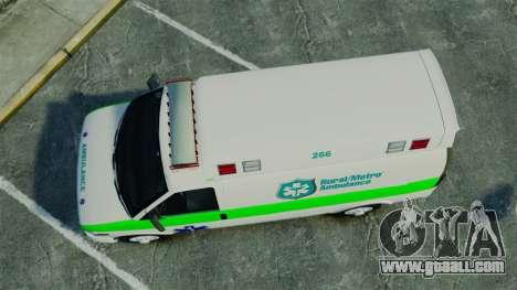 Vapid Speedo Rural Metro EMS [ELS] for GTA 4 right view