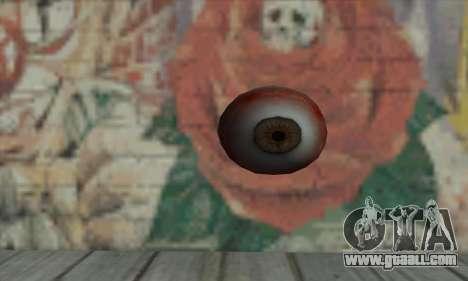 Eye Grenade for GTA San Andreas