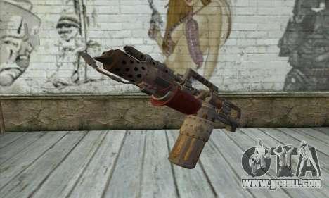 Flamethrower for GTA San Andreas