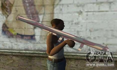 Rocket launcher for GTA San Andreas third screenshot