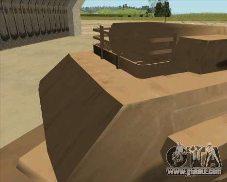Rhino Mark.VI for GTA San Andreas back view