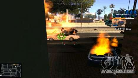 C-Hud Niko for GTA San Andreas third screenshot