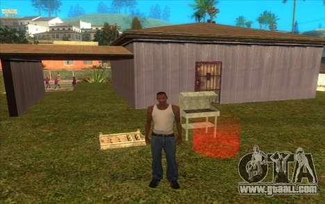 Barbecue for GTA San Andreas second screenshot