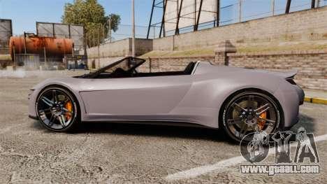 GTA V Dinka Jester Rodster for GTA 4 left view