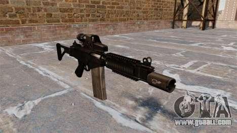 DSA FN FAL automatic rifle for GTA 4