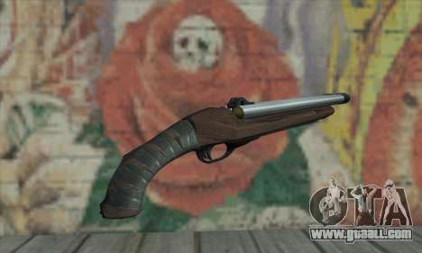 Sawed-off Shotgun for GTA San Andreas second screenshot