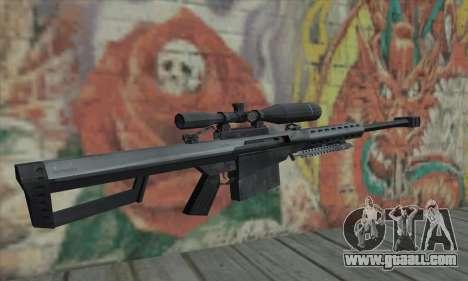 M82A1 Barret .50cal for GTA San Andreas second screenshot