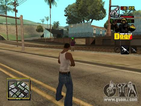 C-HUD Snoop Dogg for GTA San Andreas forth screenshot