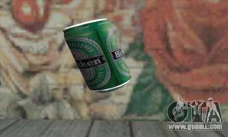 Heineken Grenade for GTA San Andreas