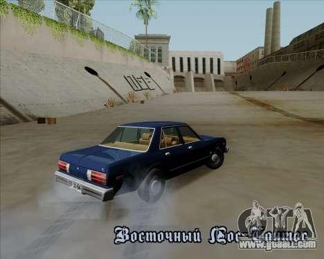 Dodge Aspen for GTA San Andreas left view