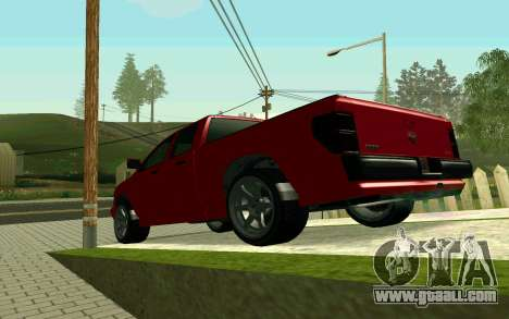 GTA V Bison Version 2 FIXED for GTA San Andreas right view